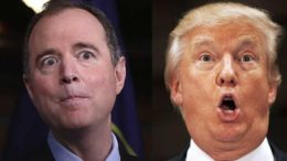 Adam Schiff busted colluding with Russians. He spent over eight minutes thinking comedians were real Russians trying to give him photos of Naked Trump. Photo credit to screen capture by Dagger News.