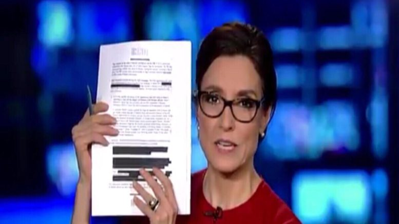 Catherine Herridgen Chief Intelligence Correspondent, Fox News reviews the Democrat Memo. Photo credit to screen capture by US4Trump.