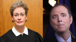FISA Court Judge stonewalls release of FISA applications. Image Source: Left-Wikipedia Right- Free Bacon; Edited and Collaborated by USA 4 Trump