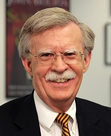 John Bolton. Photo credit to Washington Speakers Bureau.