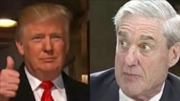 """Mueller's team tells POTUS's team Trump is NOT the """"criminal target"""" of the witch hunt. Photo credit to US4Trump compilation. Screen grabs from NBC/MSNBC."""