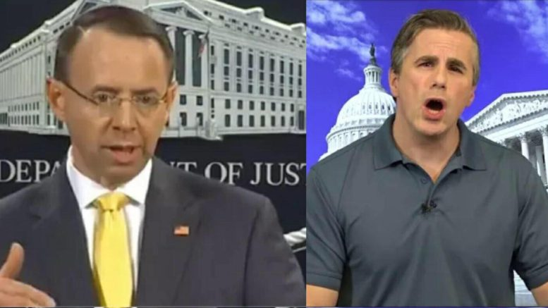 Tom Fitton of Judicial Watch sues DOJ for Fusion GPS/DNC paid dossier and Ohr documents. Photo credit to US4Trump screen captures.