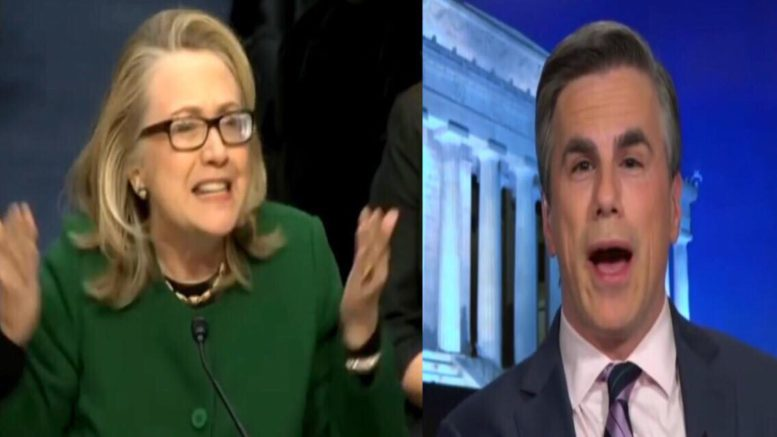 281 pages of the 'deleted' Clinton emails surface from Fitton FOIA lawsuit. Photo credit to US4Trump screen capture compilation.