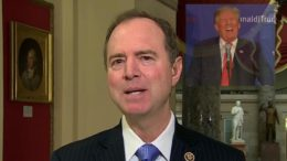 Adam Schiff (CA-D) begrudgingly gives kudos to President Trump on NOKO relations. Photo credit to US4Trump wtih CBS & CNN Screen Shots.