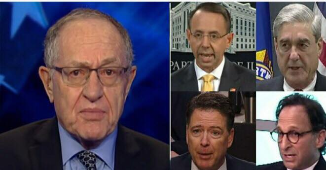 Dershowitz talks police state concerns! US4Trump compilation with Fox;CSPAN;ABC;YouTube Screen Shots.