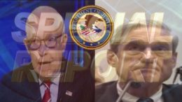 Mukasey, former AG, comes out swinging regarding how the special counsel began on Sunday Morning Futures with Maria Bartiromo. Image Source: Video Screen Shots. US4TRUMP