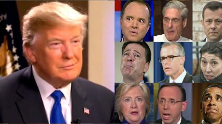 The FBI mole inside the 2016 Trump campaign election. Image credit to USA4Trump compilation.
