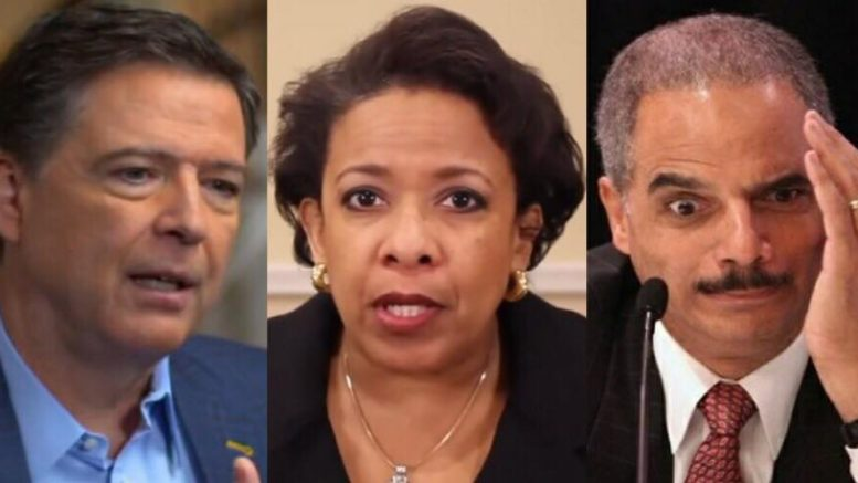 Joe diGenova breaks news in a BLOCKBUSTER revelation to The Daily Caller. FBI agents ready to tell all. Image credit to US4Trump compilation with ABC/YouTube Screen Grabs/Pinterest.