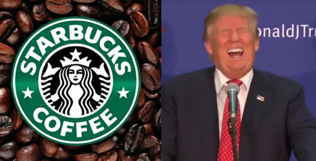 Starbucks closing 150 stores next fiscal year due to sagging numbers. Image credit to US4Trump screen capture enhancements and Statbucks.