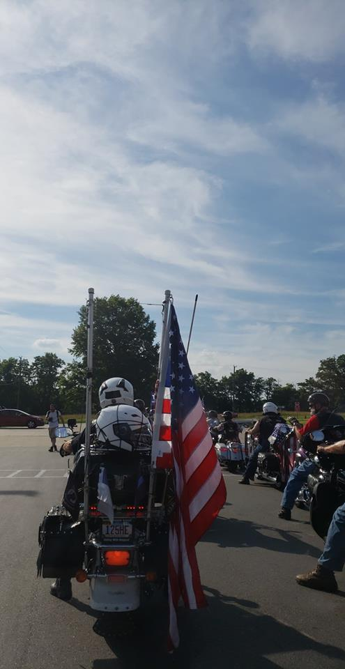 Biker For Trump VA Chapter are an inspiration to us all. Let's all get involved and vote in the 2018 midterms. Photo credit to Mackall W. Acheson III.