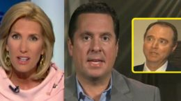 Nunes is NOT threatened by the Democrats. Image credit to US4Trump with screen grabs and enhancement.