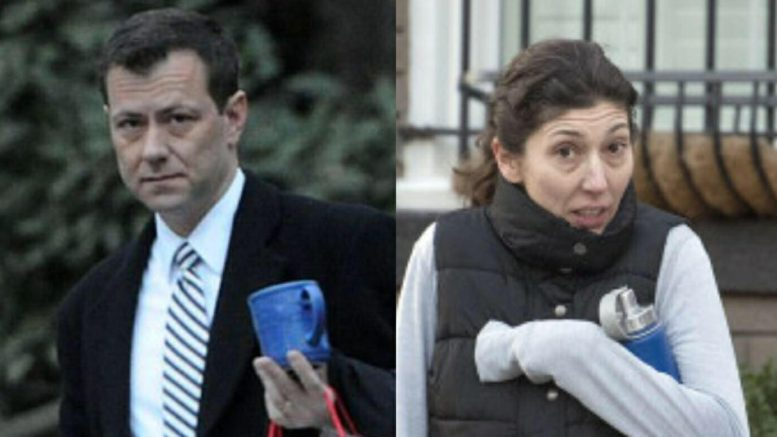 Hurry the F up email is exposed ahead of Strzok testimony to Congress. Photo credit to US4Trump with screen grabs from Daily Mail and NY Post.