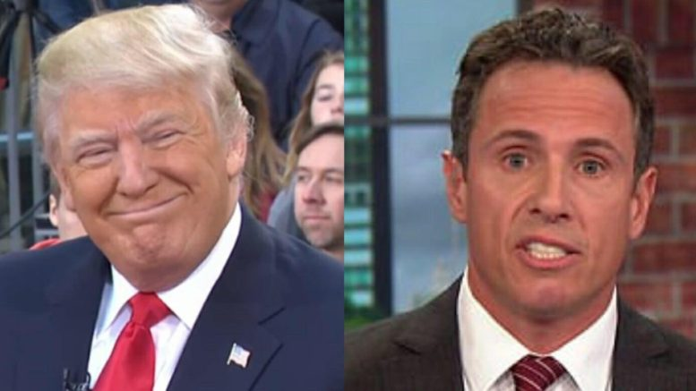 Cohen and Trump in private conversation when POTUS does the amazing! Photo credit to US4Trump with screen capture compilation.