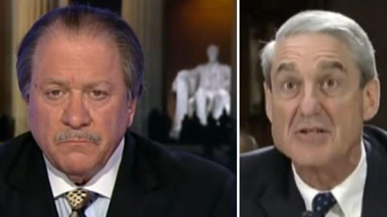 DiGenova appears on Tucker in a fiery truth bomb about Mueller probe tactics. Photo credit to US4Trump screen grabs.