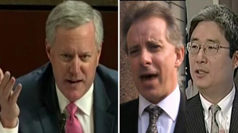 Mark Meadows relays critical information. Photo credit to US4Trump with screen shots.