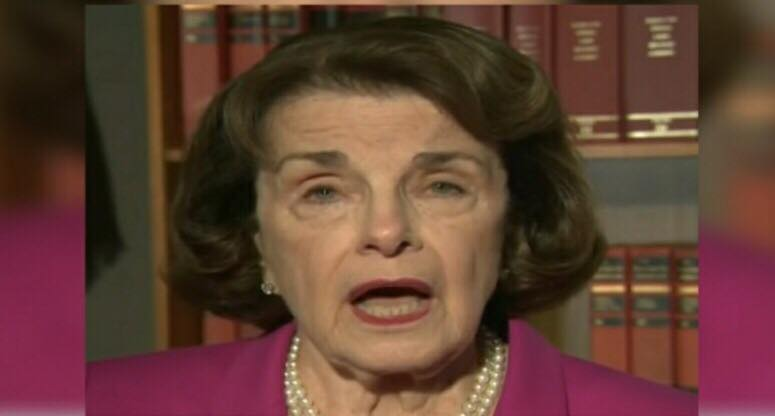 Feinstein and her Chinese spy revealed! Photo by US4Trump screen capture.
