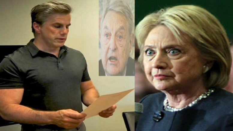 Fitton calls for re-opening of the HRC email case. Photo credit to US4Trump compilation with Tom Fitton (Reddit), Lifezette.