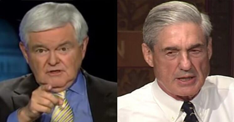 Newt Gingrich on Mueller probe. Photo credit to US4Trump with screen captures.