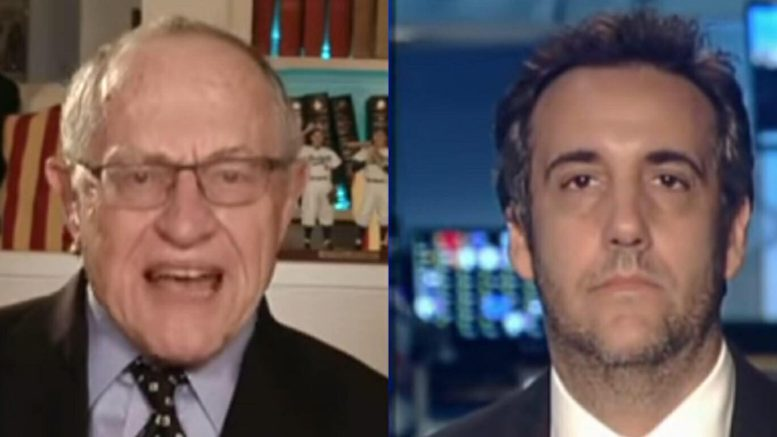 Dershowitz joins the Tucker Carlson Show and breaks down Manafort and Cohen legal style! Photo credit to US4Trump compilation with screen captures.