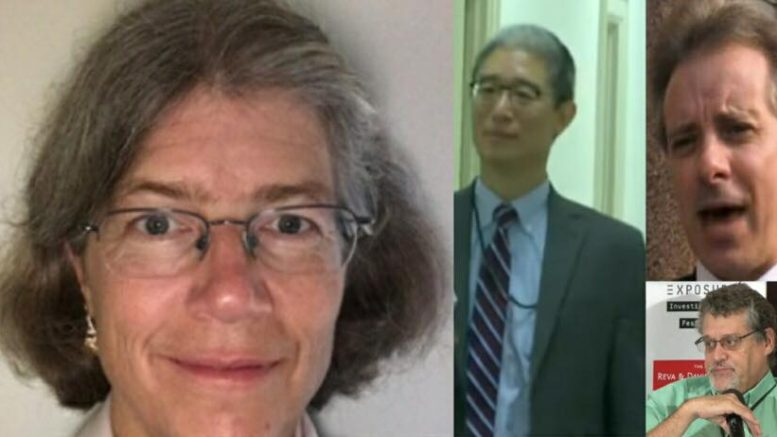 Nellie Ohr being sought to speak directly to Congress. Photo credit to US4Trump compilation with Conservative Treehouse, Screen Grabs, Newsweek.