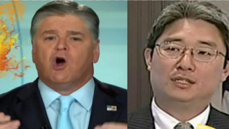 Sean Hannity exposed the Bruce Ohr testimony and the FISA abuses. Photo credit to US4Trump compilation with screen grabs.