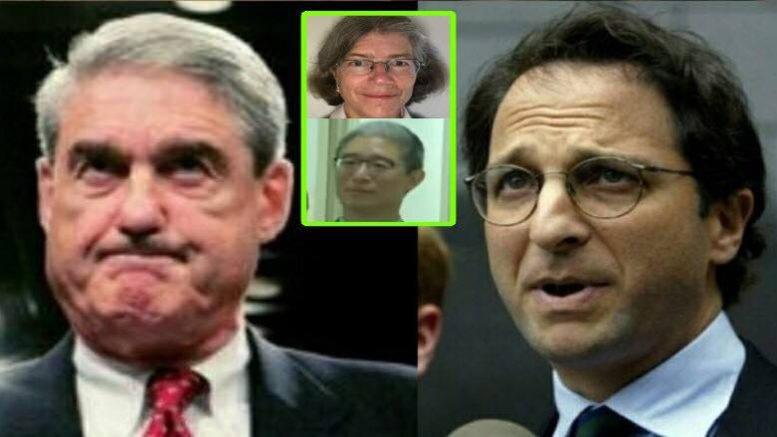 Stunning tie between Mueller team and the dirty dossier. Photo credit to US4Trump enhanced compilation with Reuters, Conservative Treehouse, Screen Grab.