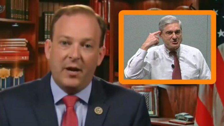 Lee Zeldin (R-NY) told his thoughts on what is next for Sessions and Mueller probe. Photo credit to US4Trump enhanced compilation with screen grabs.