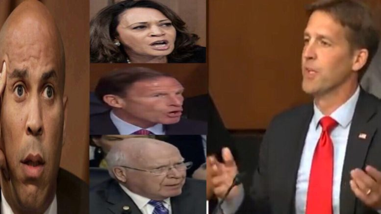 Senator Ben Sasse speaks out on last day of Kavanaugh confirmation hearing. Photo credit to US4Trump compilation with video screen shots.