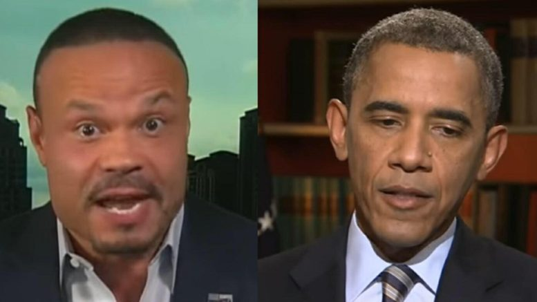 Dan Bongino speaks out on Barack's Illinois speech. Photo credit to US4Trump compilation with screen grabs.