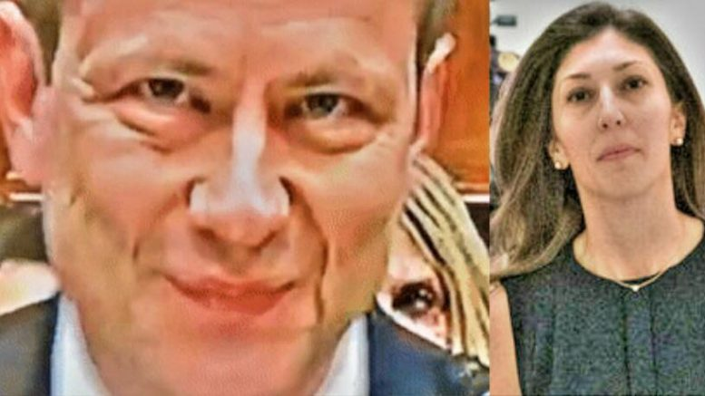 Sara Carter revealed more media/FBI texts. Photo credit to US4Trump enhanced compilation with (L) Screen Grab (R) Erin Schaaf / NYT.