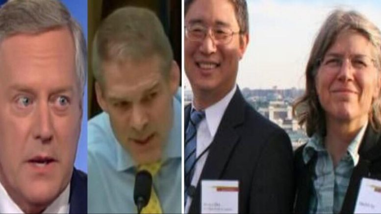 Nellie Ohr disrespects Congress in epic swampy move. Photo credit to US4Trump compilation with Screen Grabs, Conservative Treehouse.