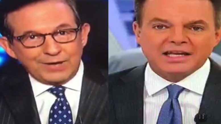 Chris Wallace swats the liberal narrative that President Trump is to blame out of the ball park. Photo credit to US4Trump compilation with video screen shots.