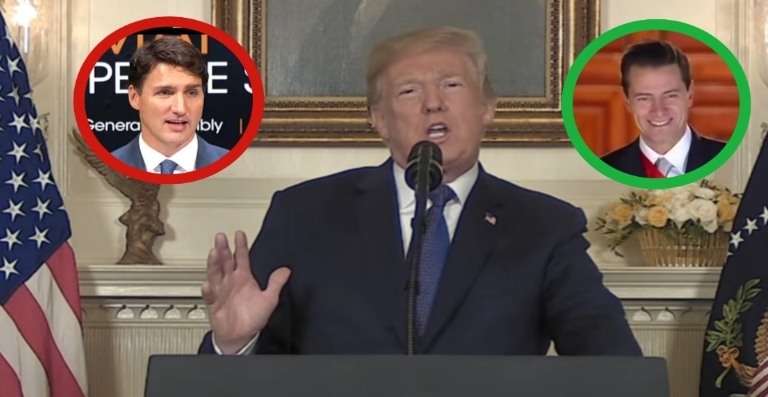 President Trump announced GREAT news for America. Photo credit to US4Trump compilation with screen shots.