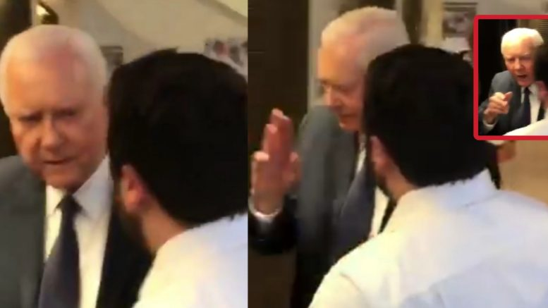 Senator Hatch shuts protesters down. Photo credit to US4Trump compilation with screen shots.