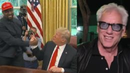 Kanye West goes to the White House to visit with President Trump. James Woods weighs in on the ensuing far left media melt down. Photo credit to US4Trump compilation with screen shots.
