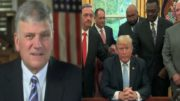 Franklin Graham in a three-part tweet on the importance of voting on November 6th. Photo credit to US4Trump compilation with screen captures.