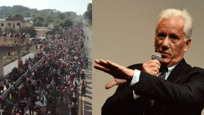 James Woods speaks out on the caravan. Photo credit to US4Trump compilation with screen shot and The Wrap.