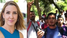 Sara A. Carter reports from the Guatemalan Mexico border on the illegal immigration invasion. Photo credit to US4Trump compilation (L) Sara Carter Profile Pic (R) Screen Shot.