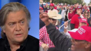 Steve Bannon forecasts a RED WAVE but it won't happen unless you VOTE. Photo credit to US4Trump compilation with screen shots.