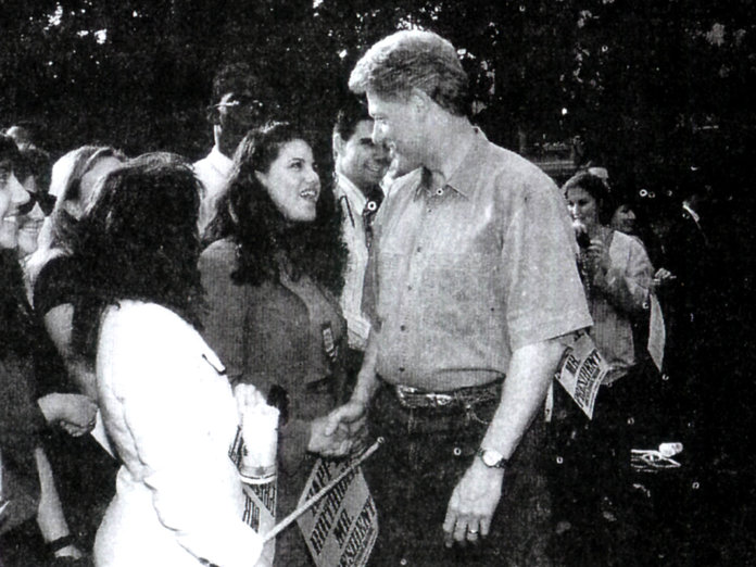 """Photo credit to: Instyle.com Lewinsky (approximate age 22). says there was a """"gross abuse of power"""" in her relationship with President Clinton."""