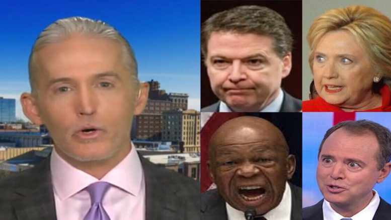 Gowdy speaks out on newfound Democratic transparency. Photo credit to US4Trump compilation with Video Screen Shots, Down Trend, Pacific Pundit, & Pinterest.