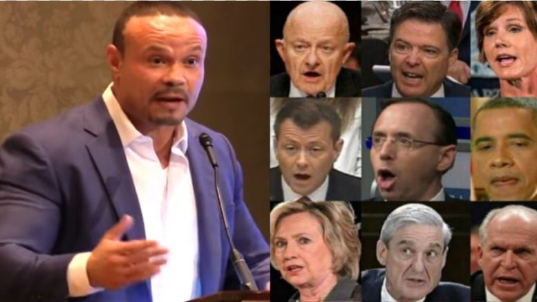 Bongino talks about the paper trail the corrupt Obama era crew left and what it means for the Mueller probe. Photo credit to US4Trump compilation with screen captures.