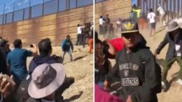 Mexico expected to deport 500 of the trouble making caravan migrants. Photo credit to US4Trump compilation with screen shots.