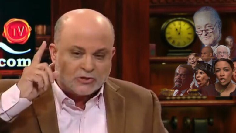 Mark Levin on Fox News about the midterm elections. Photo credit to US4Trump with screen shot.