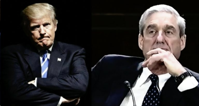 Trump tweets to keep Mueller non-partisan and unbiased. Photo credit to US4Trump compilation with enhancement and The Atlantic, Screen Grab.