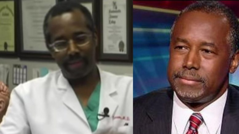 Detroit, Michigan may pull honor away from Dr. Ben Carson for supporting the Trump administration. Photo credit to US4Trump compilation with screen shots.