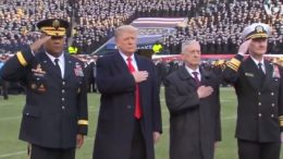 President Trump announces the retirement of General 'Mad Dog' Mattis. Photo credit to US4Trump screen capture.