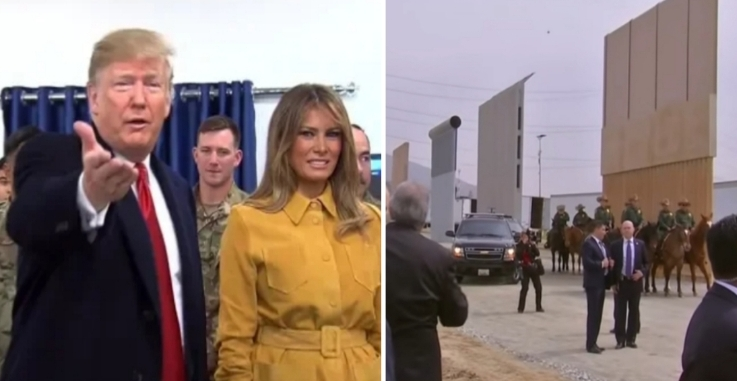 President Trump tweets about the Wall, border security and Syria and he bats down the Fake News too. Photo credit to US4Trump with Sky News Screen Shots.