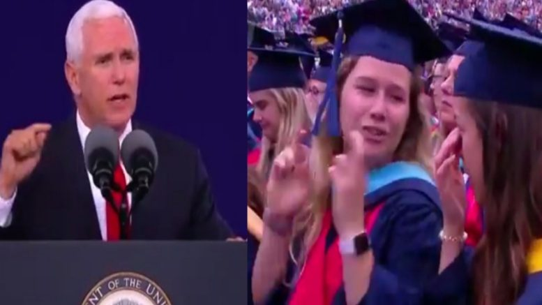 Pence, Liberty Students