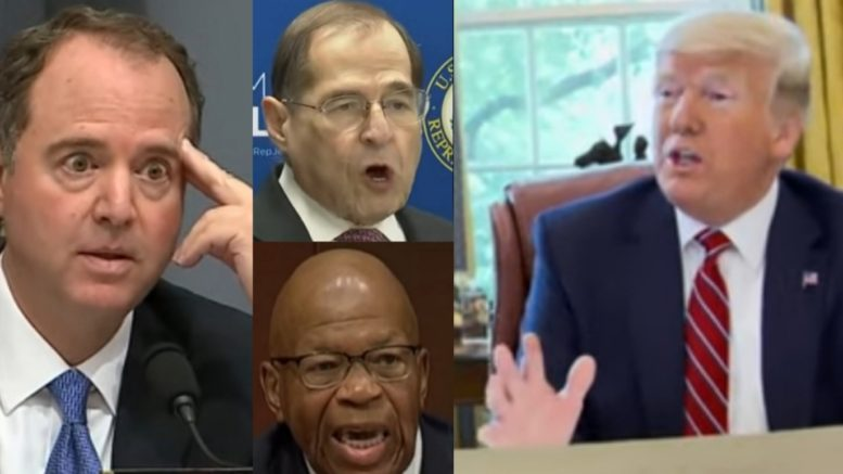 Schiff, Nadler, Cummings, Trump